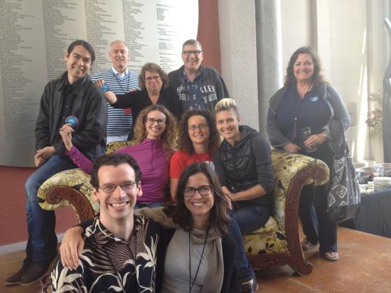 Museum Camp's co-facilitators and mentors.