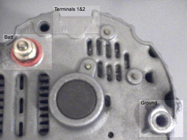 two wire alternator wiring diagram electric plug edmonton z car club