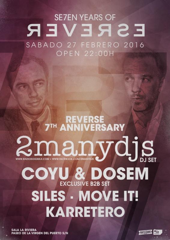 reverse-con-2manydjs-EDMred REVERSE cumple 7 años con 2ManyDjs en La Riviera
