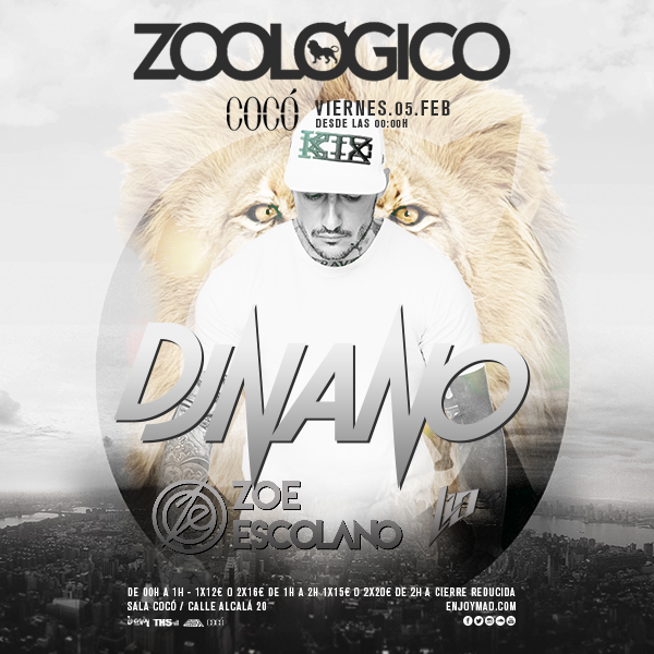 zoologico dj nano EDMred
