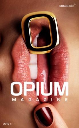 portada_revista Costa Este presenta Opium Magazine