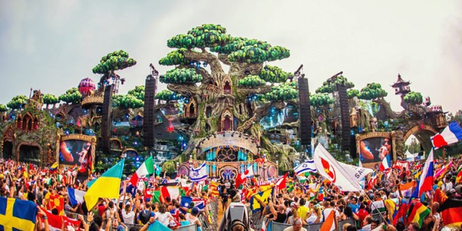 Playlist de lo que sonará en el Unite with Tomorrowland de Barcelona