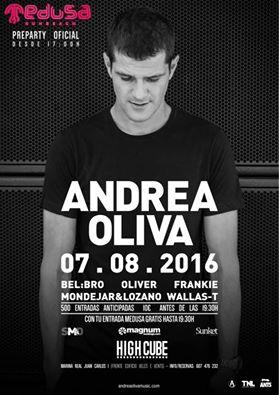 13920661_527674007430423_2552710714107103478_n Andrea Oliva estará en la preparty de Medusa en Valencia