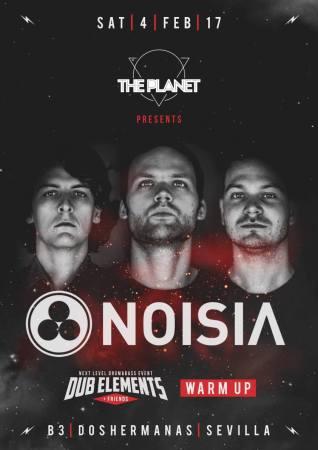 Noisia actuará en Sevilla el 4 de febrero