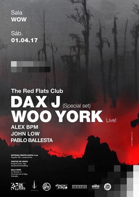 cartel-cierre-the-red-flats-EDMred ¡Puedes ver a Dax J y Woo York gratis en Granada!