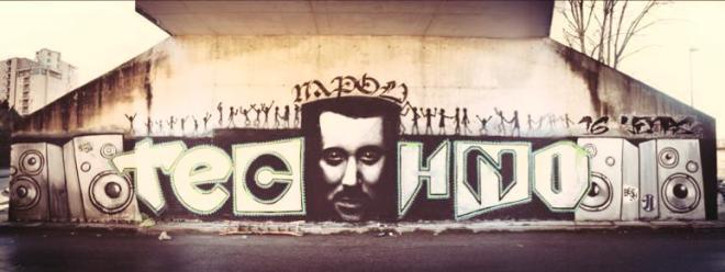 grafiti-napoles-EDMred Nápoles tiene un un techno con Denominación de Origen