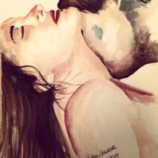 Watercolor Fabriano acquarello 300 g/m2 (140 lbs) 23 x 30.5 cm (9'' x 12'') Price: BRL$ 500,00