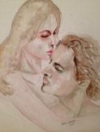 Watercolor in a Hahnenmühle Aquarelllkarton Andalucia, 500 g/m2, 50 x 60 cm Price: BRL$ 1.500,00