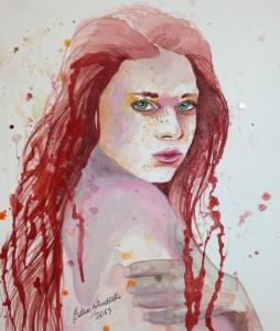 Watercolor Fabriano acquarello 300 g/m2 (140 lbs) 23 x 30.5 cm (9'' x 12'') Price: BRL$ 400,00