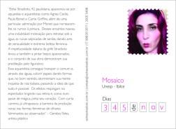 postal Mosaico - verso