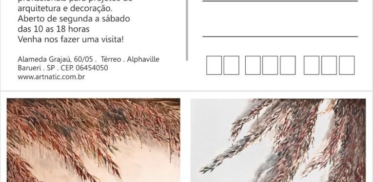 Espacio Alpha Gallery: postal