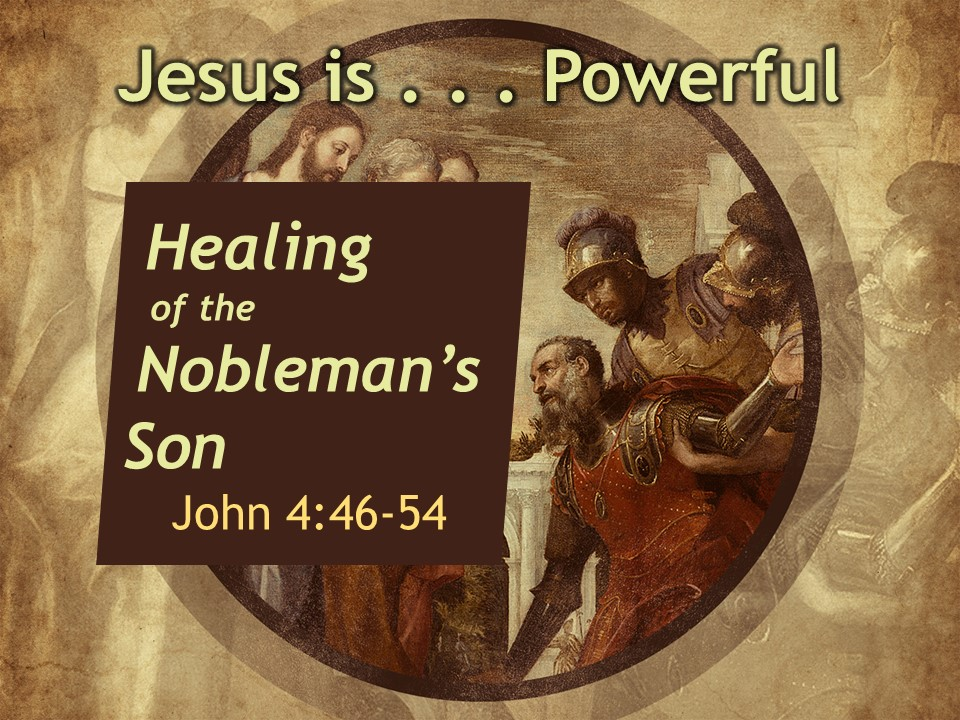 Jesus Is Powerful | Robison Street church Of Christ