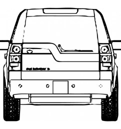 land rover defender series range rover evoque discovery lr2 basic tail light wiring lr3 tail light diagram [ 1000 x 1000 Pixel ]