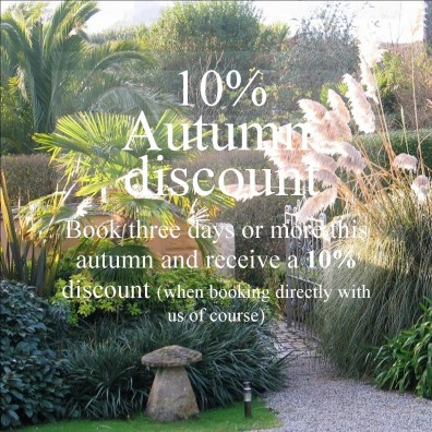 10% autumn discount with direct reservations - ednovean farm entrance