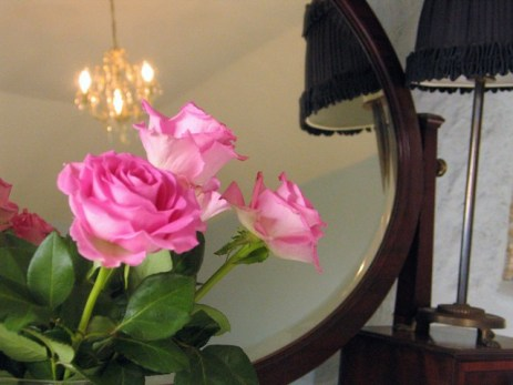 Romantic roses on Dressing table