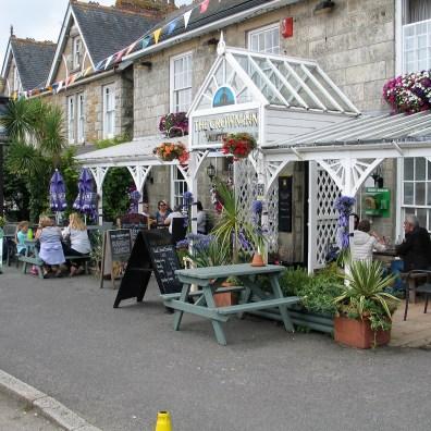 typical village pub in Cornwall