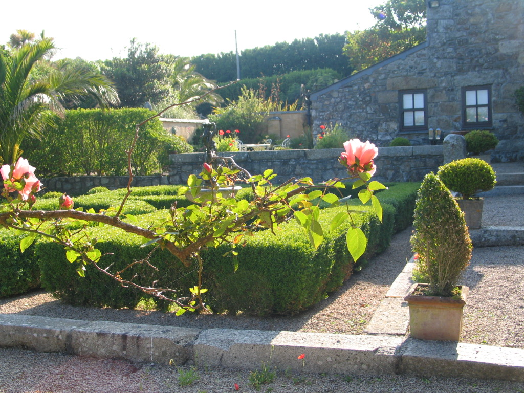 We have formal and informal gardens for our bed and Breakfast guests to enjoy at Ednovean Farm