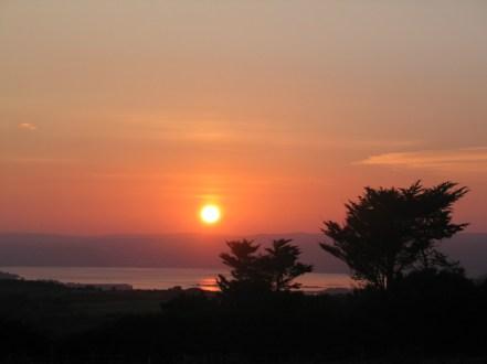 Sunset over Mounts Bay