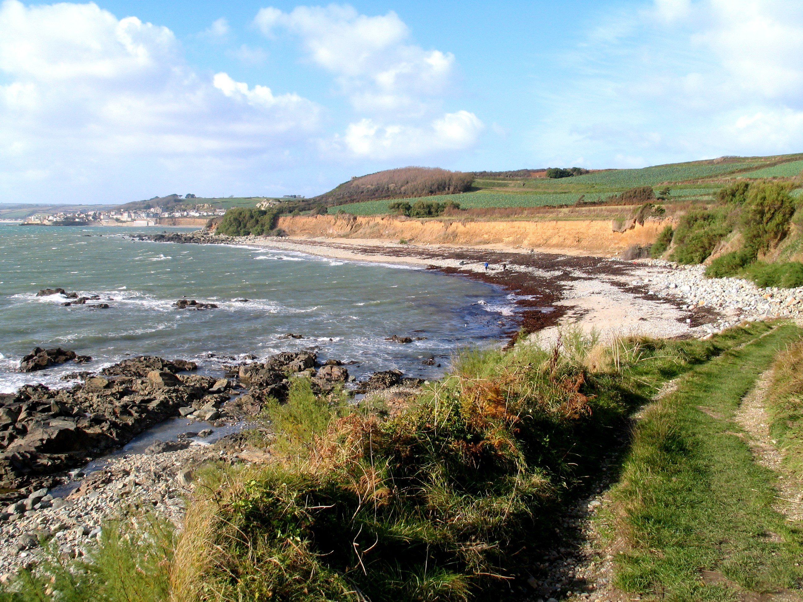 Trenow Cove - perfect o walk to on an autumn day