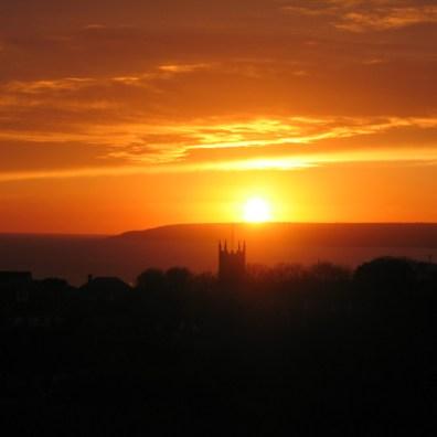 Perranuthnoe at sunset