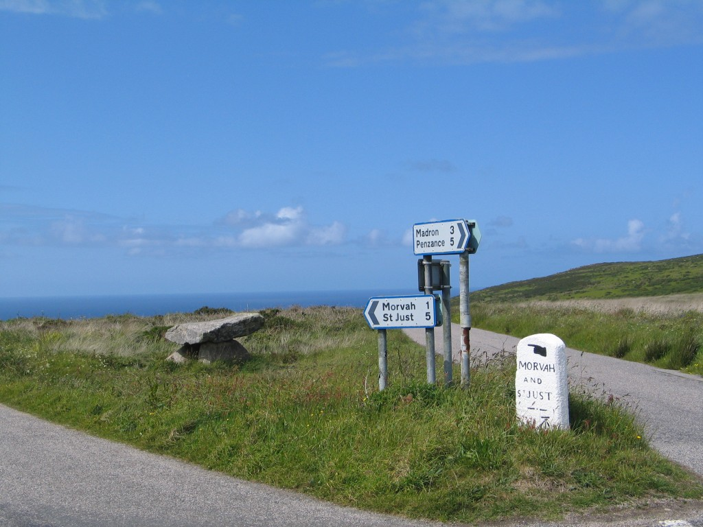 Road signs West Penwith - The Penwith Tour a great day out