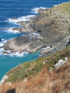 The north coast of Cornwall