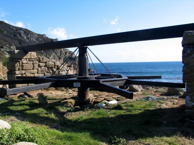 Capstan at Penberth Cove
