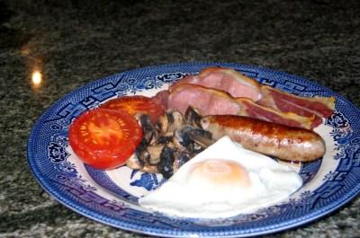 Ednovean Farm breakfast