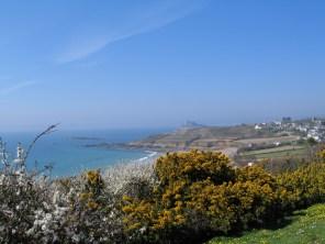 Spring walks along the coast