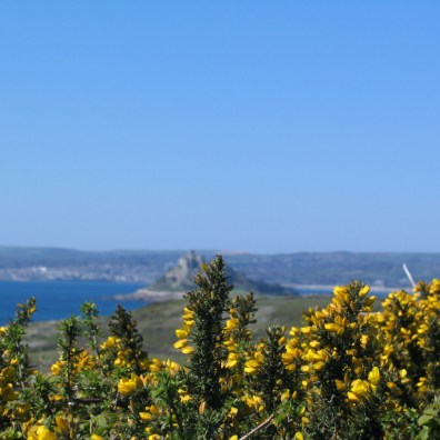 Mounts Bay and St Michael's Mount in cornwall