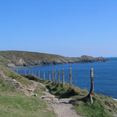 Cudden point in Mounts bay Cornwall