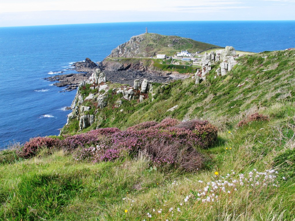 Cape Cornwall September view of Cape Cornwall