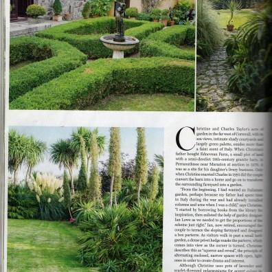 Magazine article about Ednovean farm