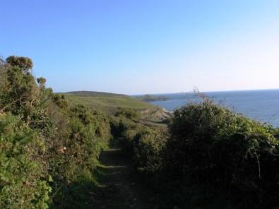 Cudden point form the Trebarvah footpath