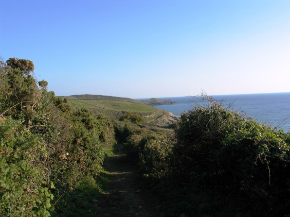 Cudden point form the Trebarvah footpath