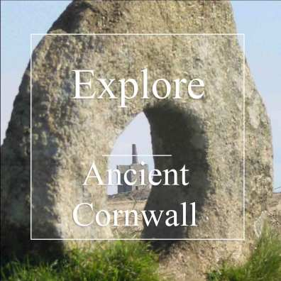 ancient cornwall - holed healing stone