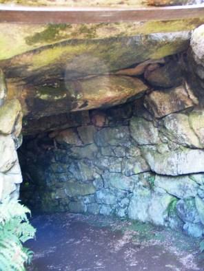 The turning underground passage