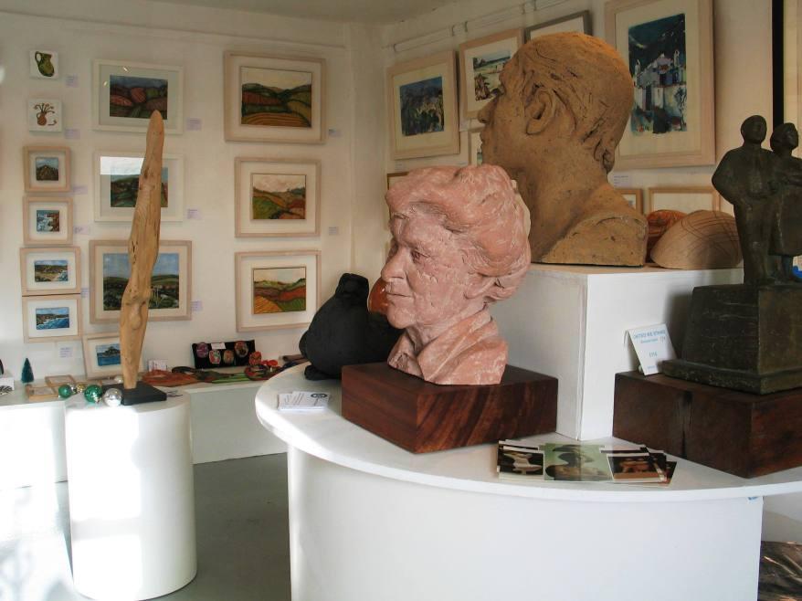 The Cowhouse Gallery in Perranuthnoe