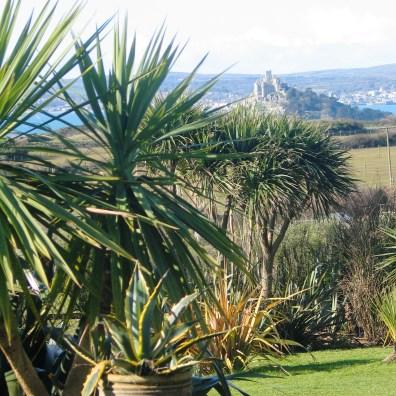 Garden view to the sea