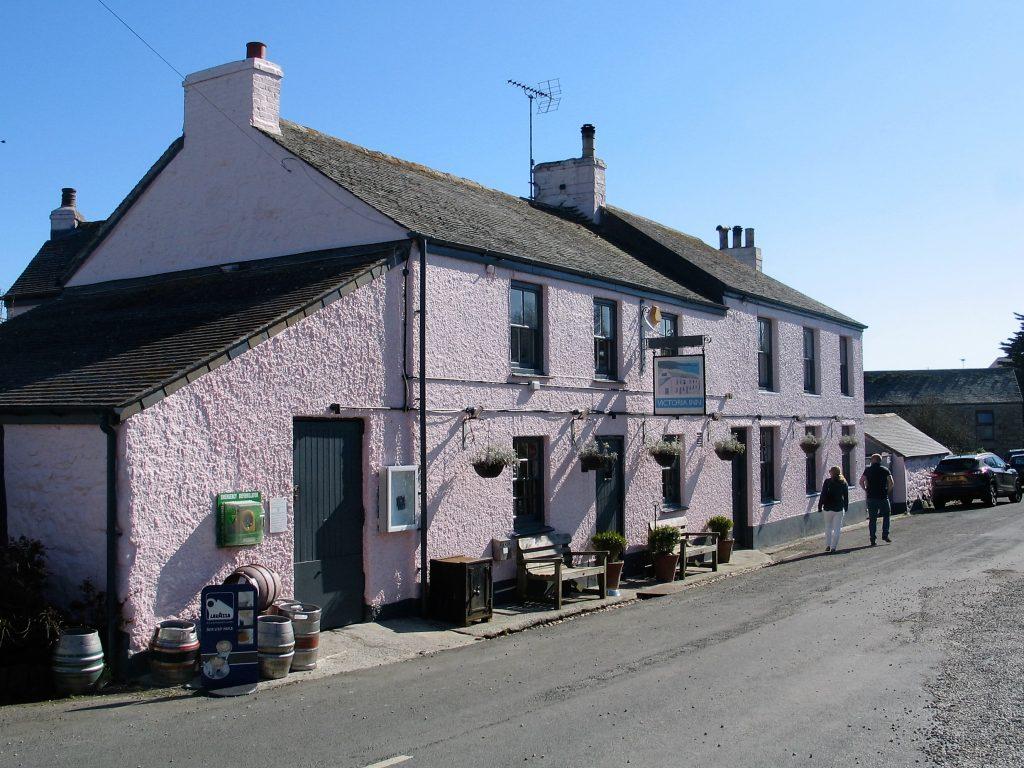 Victoria Inn in Perranuthnoe with walking distance of Ednovean Farm