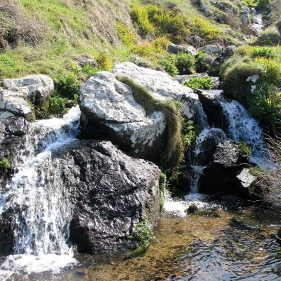 waterfall zennor walk
