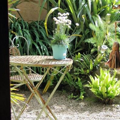 Each bedroom has a private terrace at Ednovean Farm