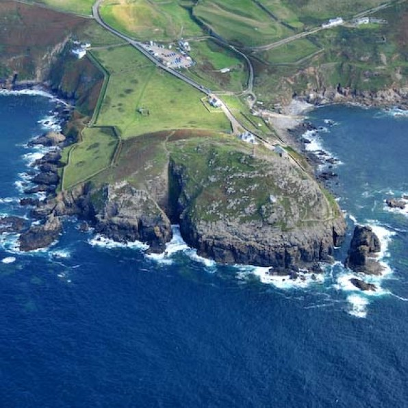 Cape Cornwall - the only cape in britain