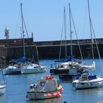 Sailing boats penzance
