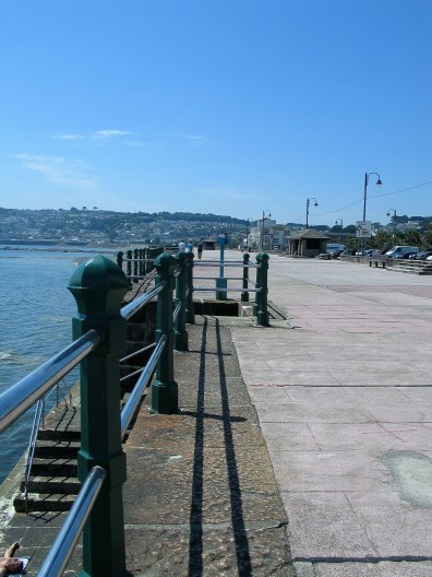 Penzance promenade stetching towards Newlyn