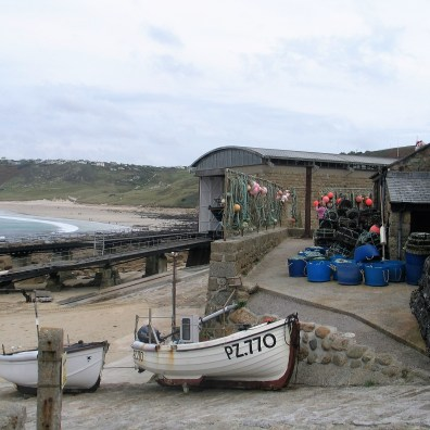 lifeboat station and boat house