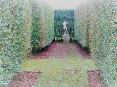 Statue of David in Italian Garden