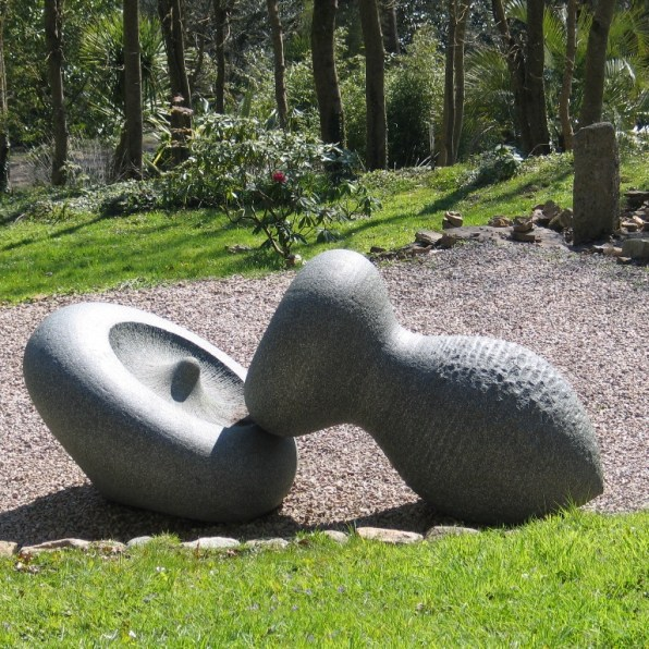 sculpture in a landscape