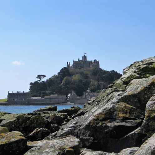 View to St Michael's Mount from Chapel rock