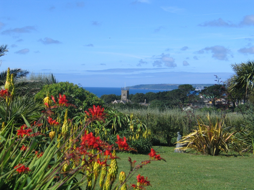 June garden diary - summer flowers and sea views